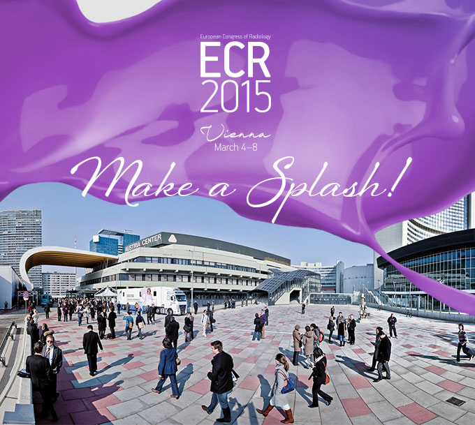 Make a splash at ECR 2015